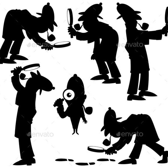 Detective Silhouettes