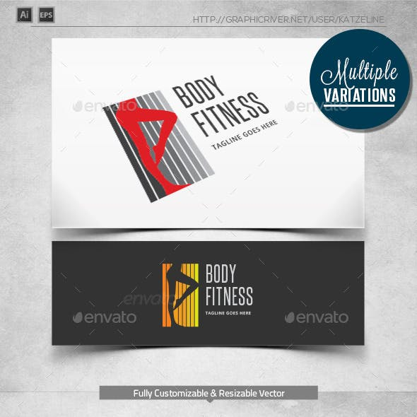 Fitness - Logo Template