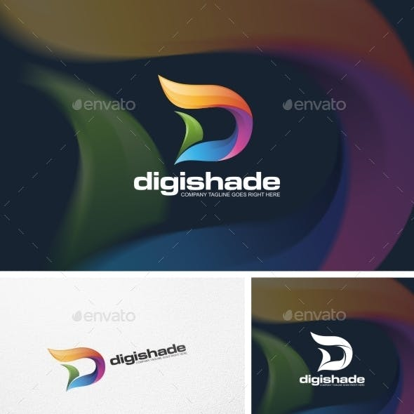 Abstract D Letter - Logo Template