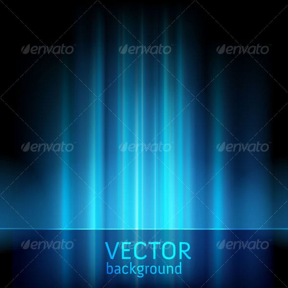 Abstract lights background - vector