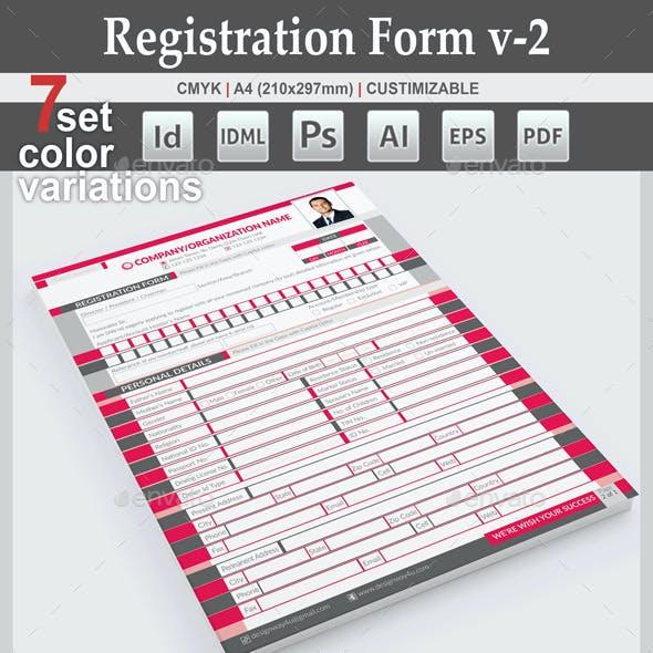 Registration Form v-2