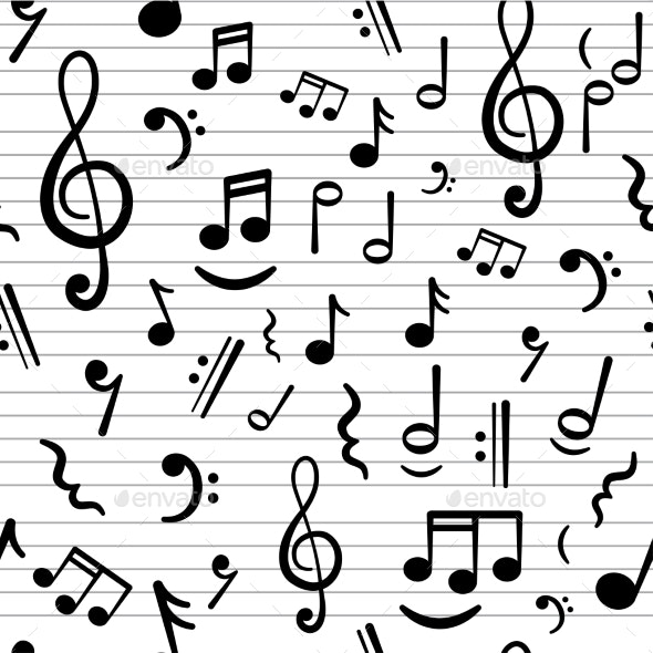Music Notes - Backgrounds Decorative