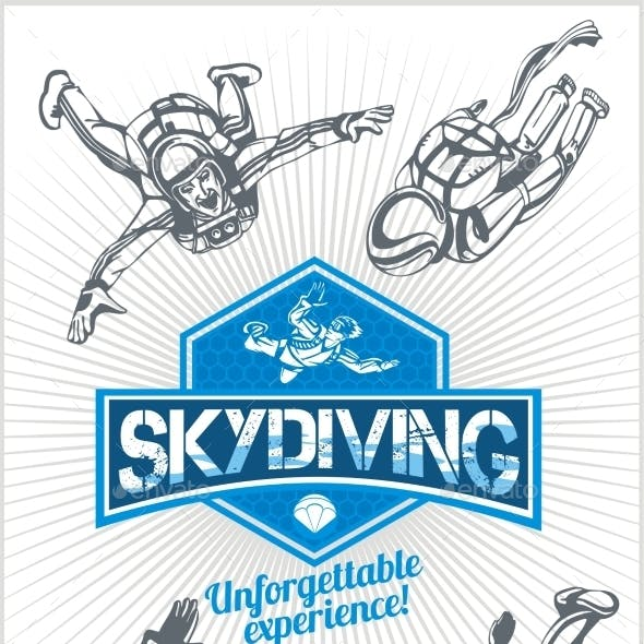 Skydiving Set
