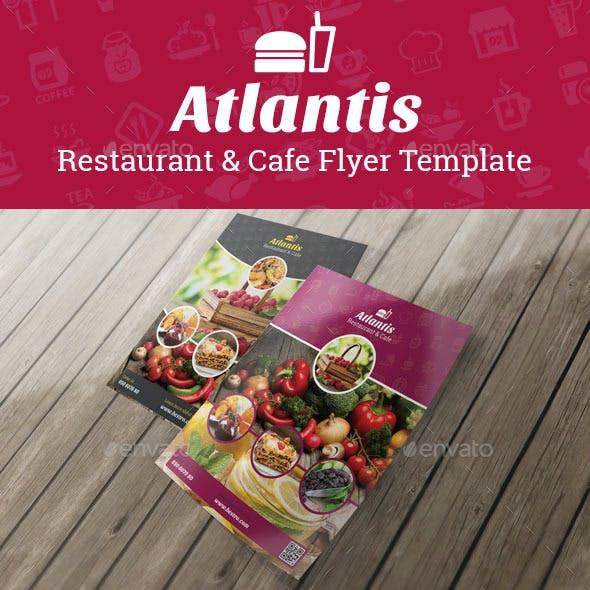 Atlantis Flyer Template