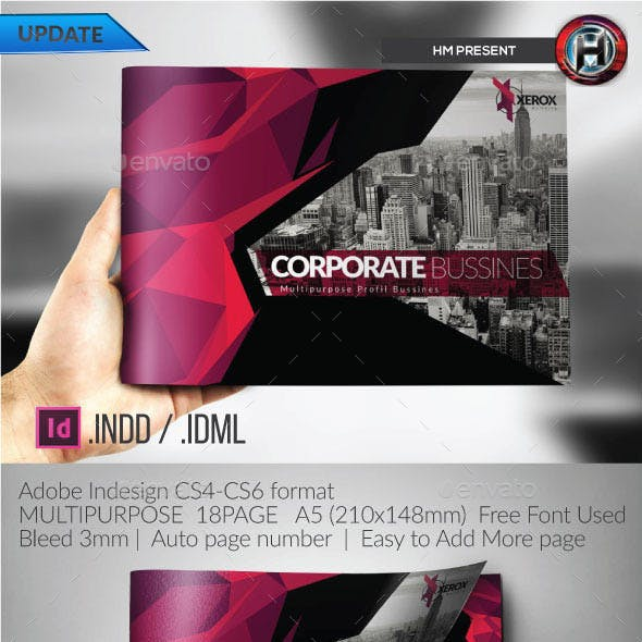 Multipurpose  Corporate Architecture  Brochure