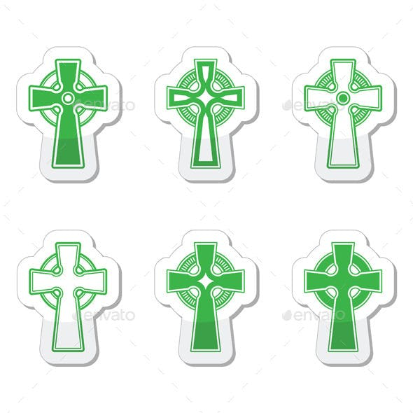 Irish and Scottish Celtic Crosses