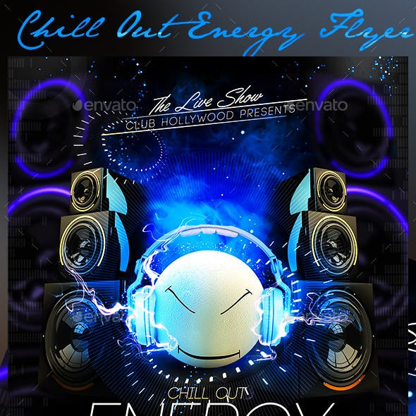 Chill Out Energy Flyer