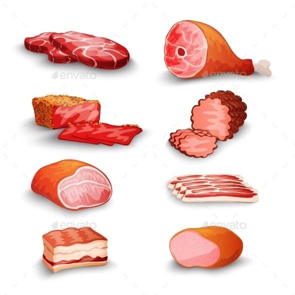 Fresh Meat Set - Food Objects