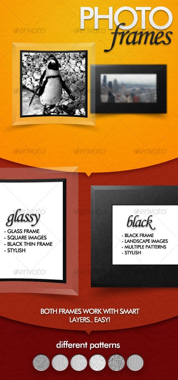 Photo Frames - Photo Templates Graphics
