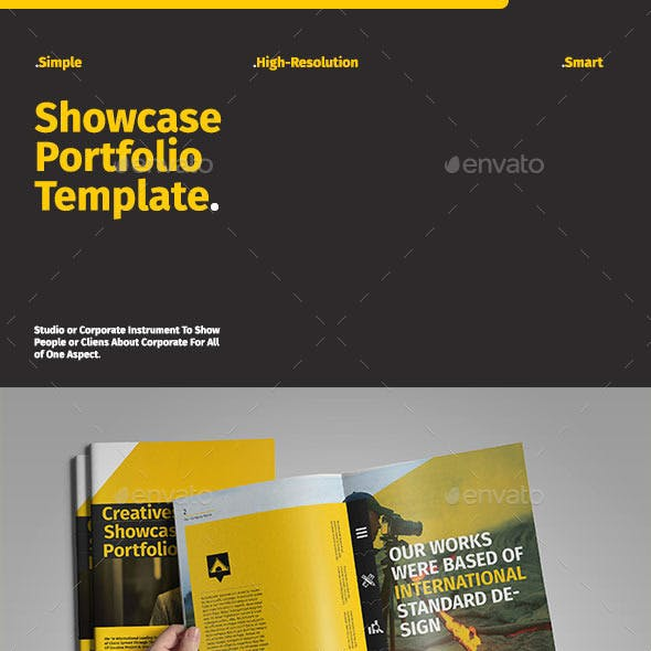 Showcase Portfolio Template