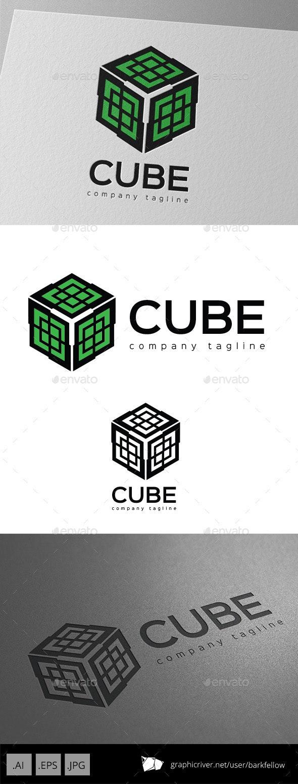 Cube Ornament Logo - Symbols Logo Templates