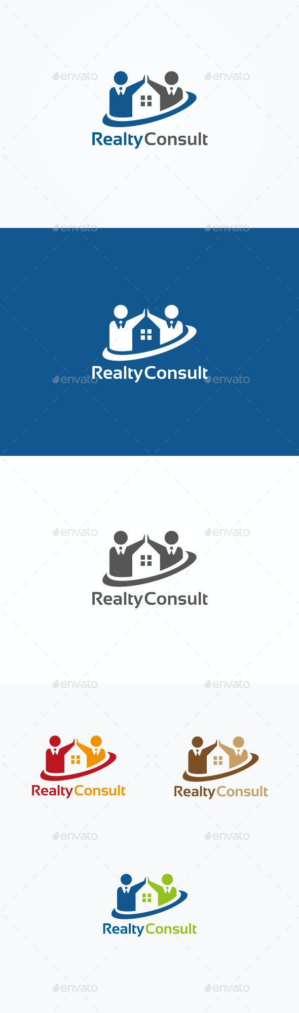 Realty Consultant Logo - Humans Logo Templates