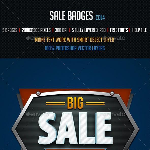 Sale Badges 4
