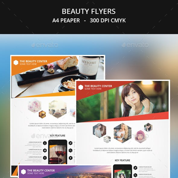 Beauty Flyer Templates