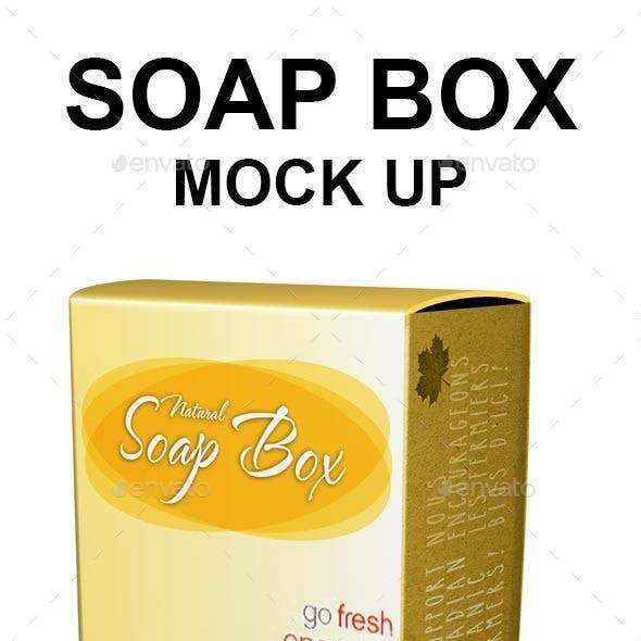 Soap box Mock-up