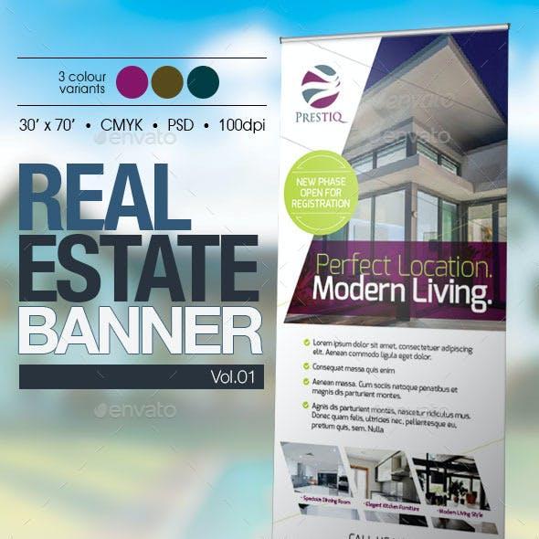 Real Estate Banner Vol.01