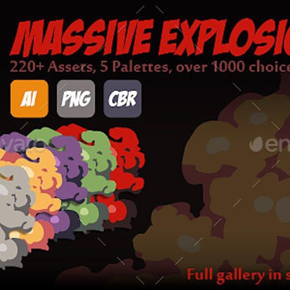 Massive Explosion Pack