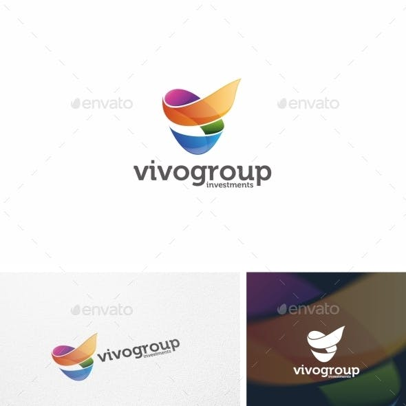 Abstract V Letter - Logo Template