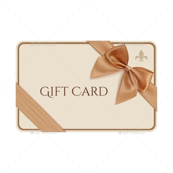 Gift Card Template - Services Commercial / Shopping