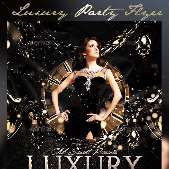 Luxury Party Flyer