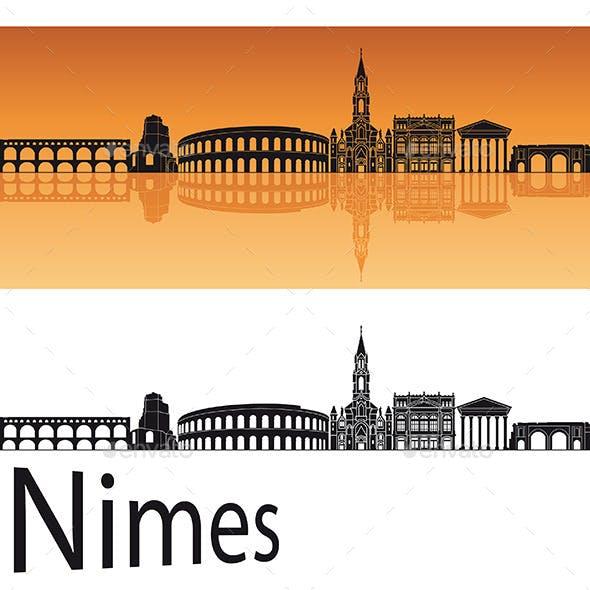 Nimes Skyline