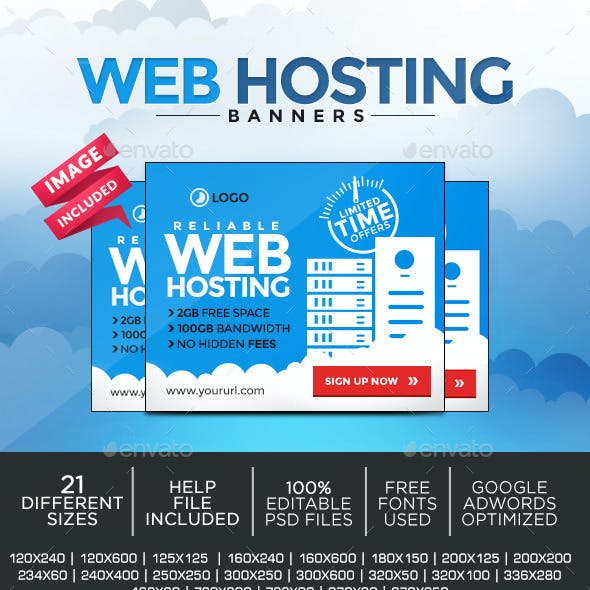 Web Hosting Banners