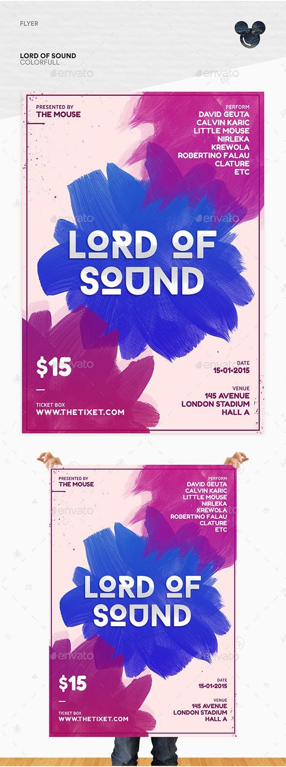 Lord of Sound Flyer Template - Events Flyers
