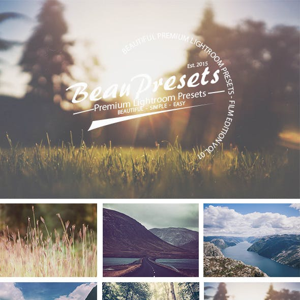 Beautiful Film Presets Vol 1