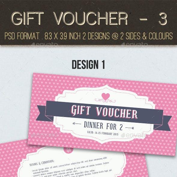 Gift Voucher - 3