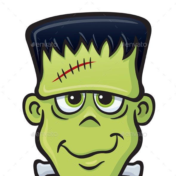 Frankenstein Monster Face