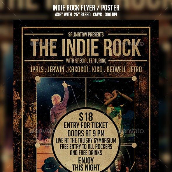 Indie Rock Flyer / Poster
