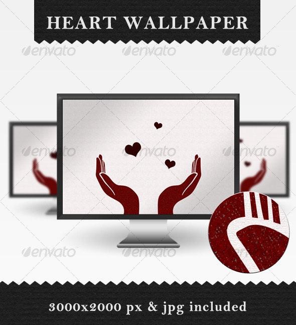 Heart Wallpaper - Backgrounds Graphics