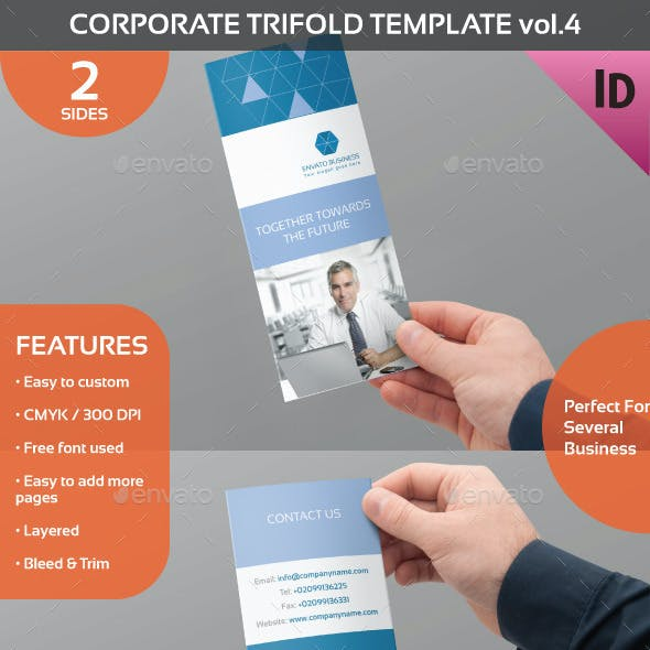 Corporate Trifold Template Vol.4