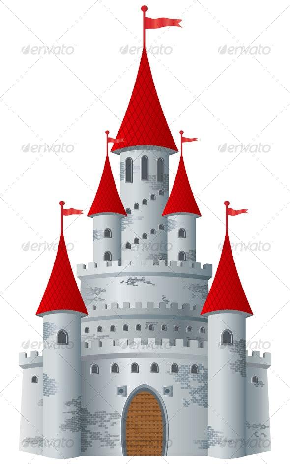 Fairy-tale castle - Buildings Objects