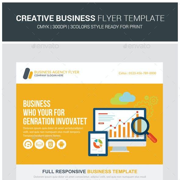 Creative Studio Business Flyer Template