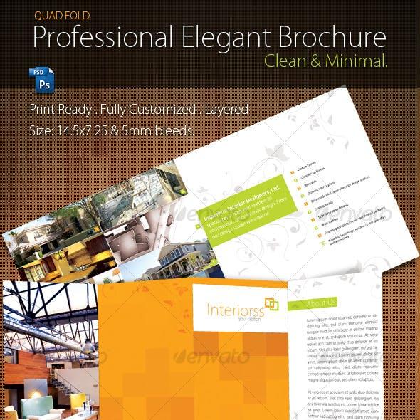 Quad-Fold Brochure