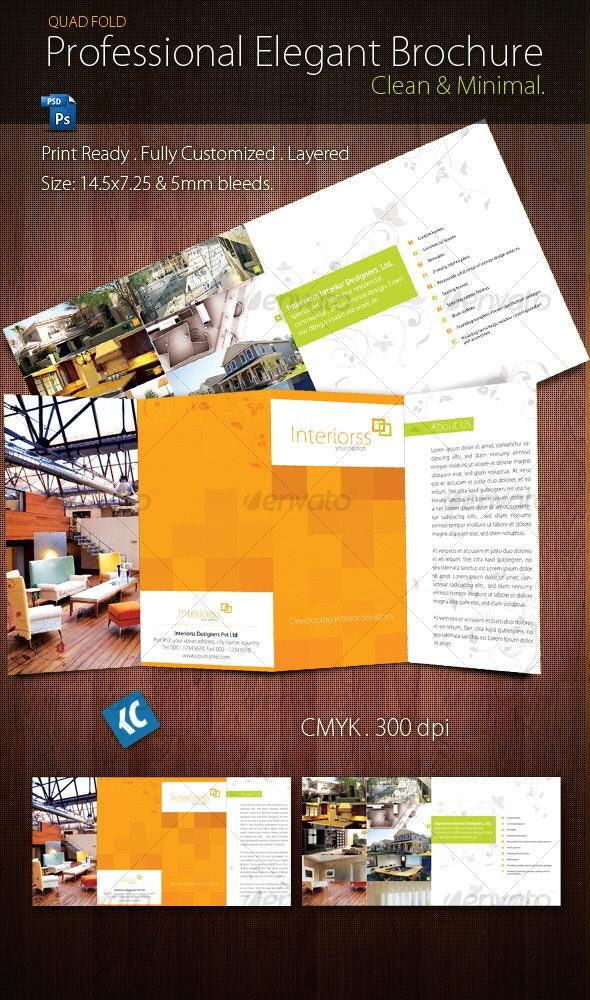 Quad-Fold Brochure - Corporate Brochures