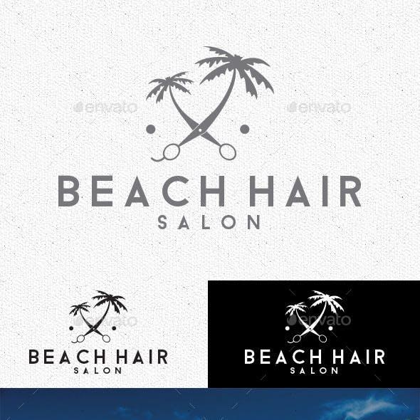 Beach Hair Logo