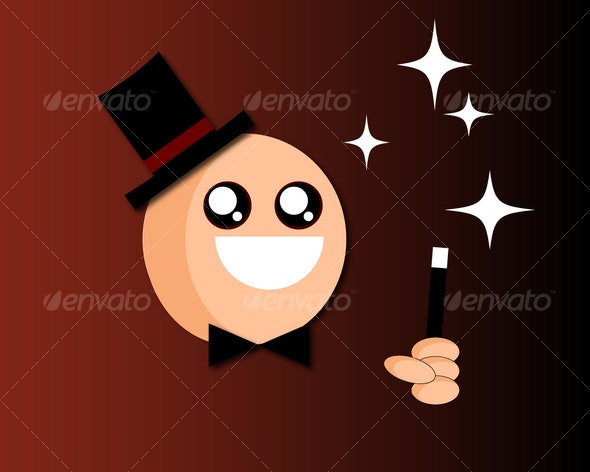 Magician Vector - People Characters