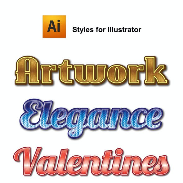 Artwork Graphic Styles for Ai