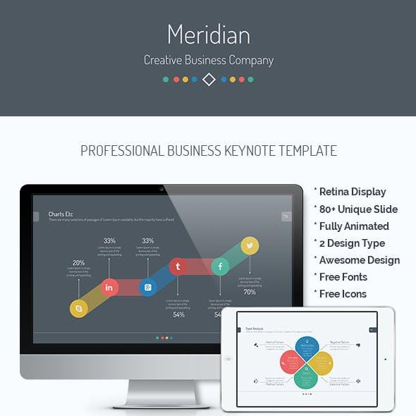 Meridian | Business Keynote Template
