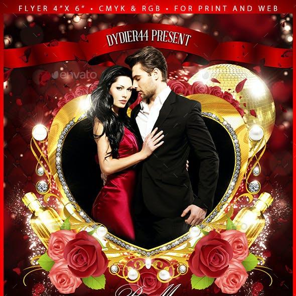 Valentine (Flyer Template 4x6)