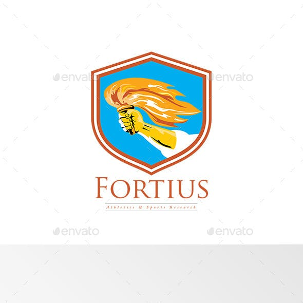Fortius Athletics and Sports Research Logo