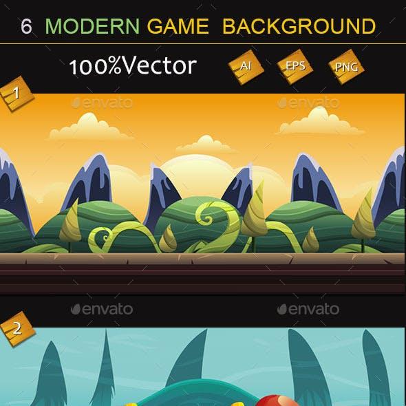 6 Modern Game Background