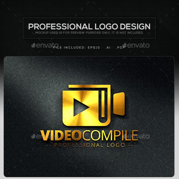 Video Compile Logo Template