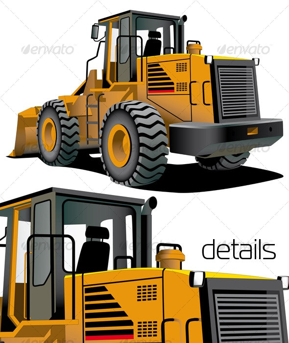 Bulldozer - Industries Business