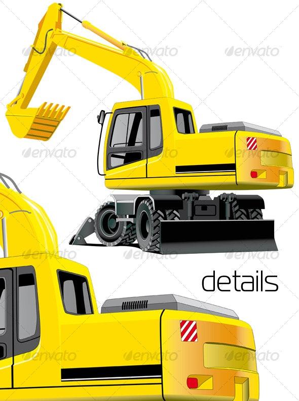 Excavator - Industries Business