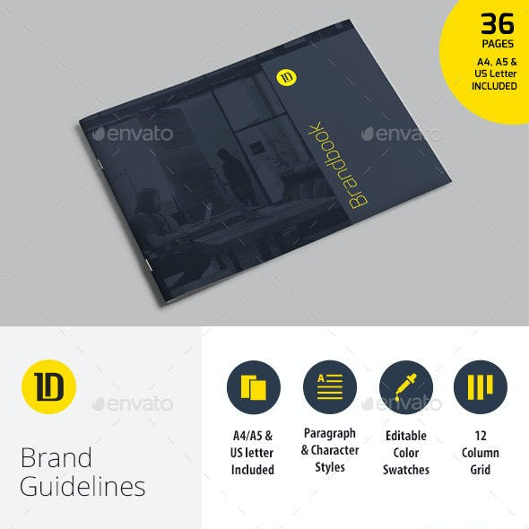 Brand Guidelines Graphics, Designs & Templates from GraphicRiver