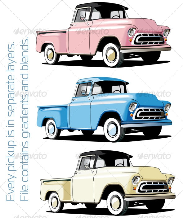 American pickup - Retro Technology