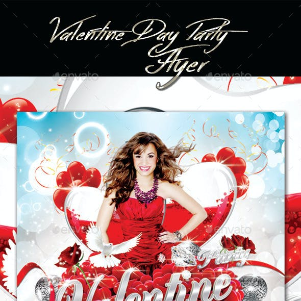 Valentines Day Party 2 Flyer